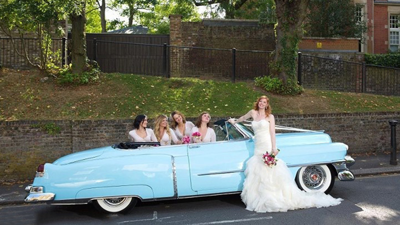 American Dreams Specialist American Vehicle Hire Wedding Event
